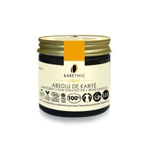absolu de karite beurre brut bio karethic