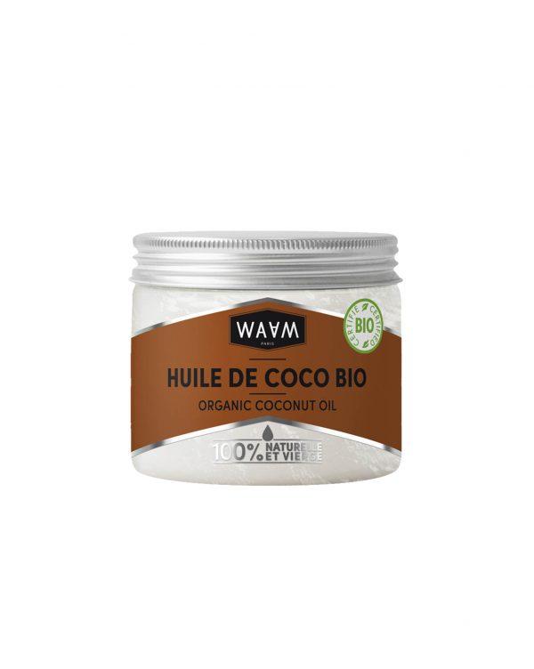 choisir huile coco bio waam cheveux peau