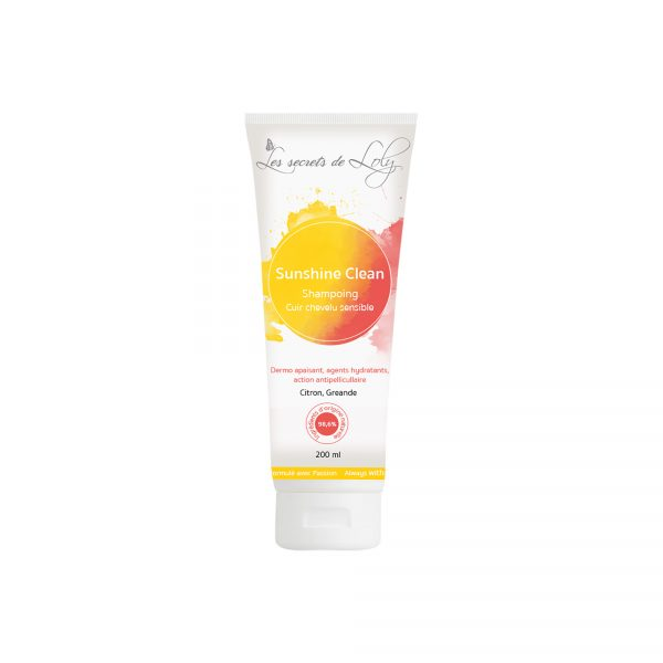 sunshine clean shampoing antipellicullaire secrets de loly