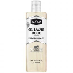 gel lavant doux waam nettoyant personnalisable