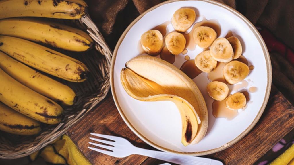 banane cosmetique bienfaits vertus sante
