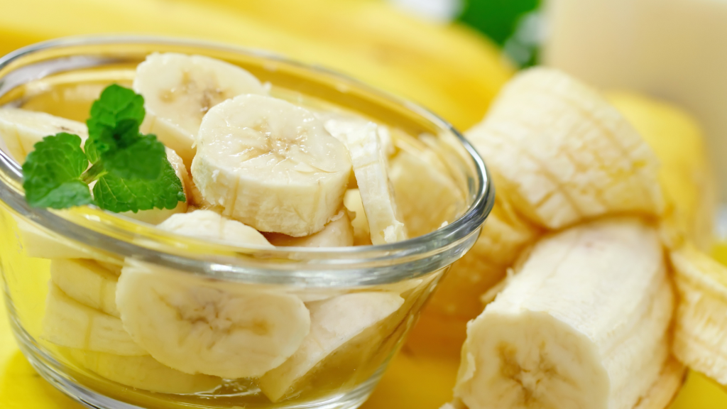 Banane vertus sante beaute