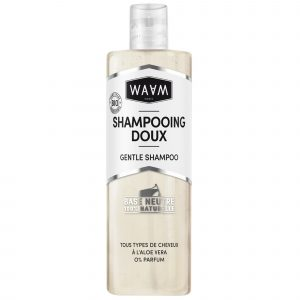shampoing doux personnalisable waam